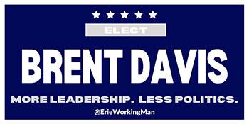 brent davis more leadership less politics